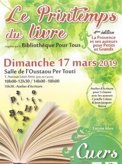 affiche printemps du livre 2019