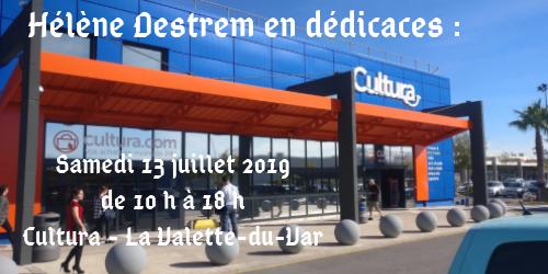 Hélène Destrem en dédicaces _